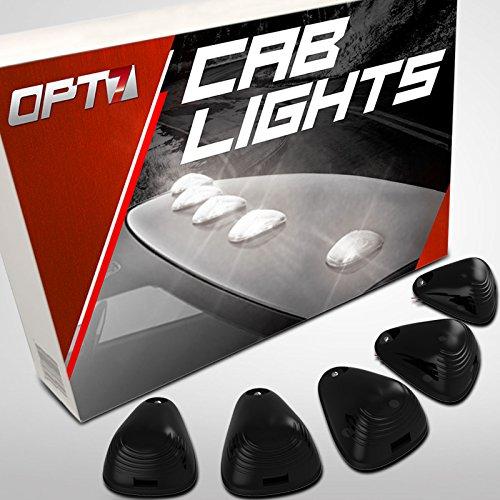 opt75Smoked LED Cab Clearance Lights–Der Nacht–wasserabweisend 1Jahr Garantie–Dach Halterung Top Marker Running Lampen (Big Rig-trailer)