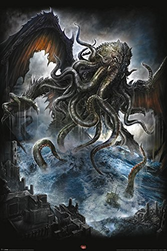 """Spirale """"Cthulhu Maxi Poster, multicolore"""
