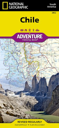 Chile: Travel Maps International Adventure Map