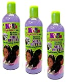 3x Africa's BEST Kids Organics Shea Butter Conditioning Shampoo 355ml (insgesamt - 1065ml)