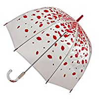 Lulu Guinness By Fulton Birdcage 2 Umbrella - Raining Lips