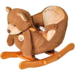 Knorrtoys 40319 - Teddy bear a dondolo