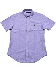 Polo Ralph Lauren - Homme - Short-Sleeve Seersucker Shirt Chemise Casual - Manche Courte