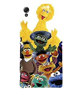 For Sony Xperia Z4 many cartoon ( ) Printed Designer Back Case Cover By CHAPLOOS