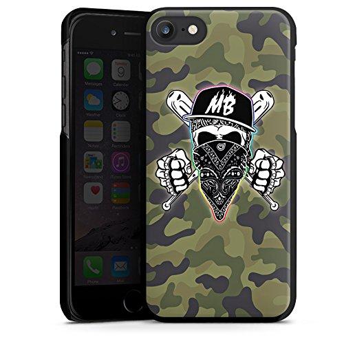 Apple iPhone X Silikon Hülle Case Schutzhülle Montanablack Fanartikel Merchandise MontanaBlack Base Camo Hard Case schwarz