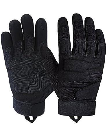 Taktische Handschuhe - Voll-Finger harte Knöchel Fahren Motorrad Schießen Polizei Airsoft Swat Kampf Militär Überfall taktische Ausrüstung