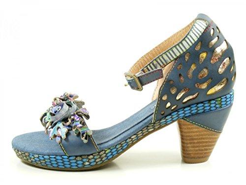 Laura VitaBeline 10 - Sandali Donna , blu (Denim (Jeans)), 39