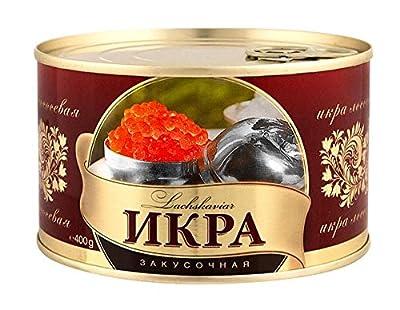 Kaviar - Zarendom Gorbuscha Lachskaviar Klassik 400 g Dose - roter Kaviar - caviar - ????