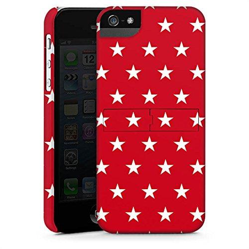 Apple iPhone X Silikon Hülle Case Schutzhülle Muster Sternchen Polka Premium Case StandUp