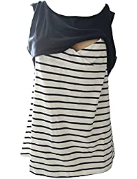 Juleya Breastfeeding Shirt Tops de enfermería para mujeres embarazadas