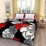 #7: iwonder Premium Microfibre Comforter, Double Bed King Size (Flower Printed)