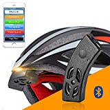 Generic ROCKBROS Smart Bluetooth Helmet Audio Riding Bicycle Bell Speaker Handsfree Phone Call