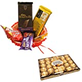 Gift Hamper With 24 Pcs Ferrero Rocher