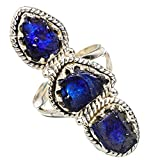 Sapphire Ring For Women Silver