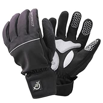 SealSkinz Waterproof All Weather Cycle Gloves Black Large