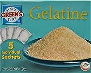 Green's Plain Gelatine Sachets, 5 X 10g - Pack