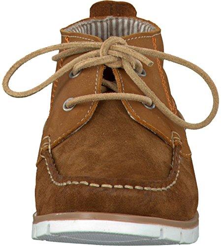 Tamaris  25215, chaussures bateau femme Marron - Marron
