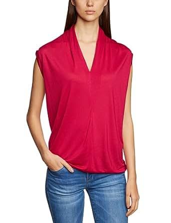 RENÉ LEZARD Damen Top Comfort Fit 41T005S2066371, Gr. 40, Pink (371 ruby)