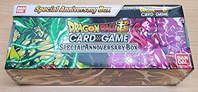 Dragon Ball Super Card Game - Coffret Cadeau de Noel 2019 : Special Anniversary Box - Version Broly & Majin Boo