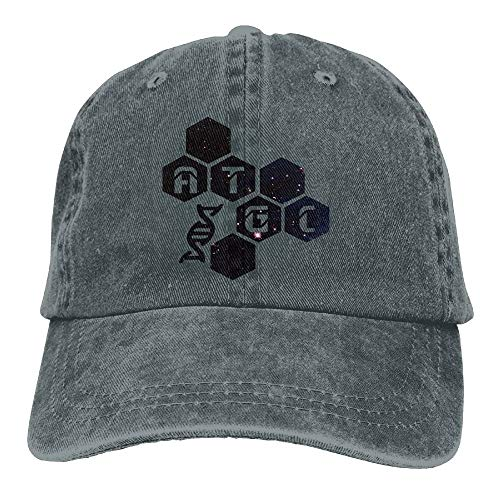 KKAIYA Galaxy Funny Molecular Biology DNA at GC Snapback Cotton Hat