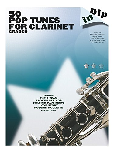 Dip In: 50 Graded Pop Clarinet Solos. Partitions pour Clarinette