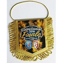 FANION PARIS SAINT GERMAIN PSG / LOSC LILLE - Finale Coupe de Ligue 2016 de Football