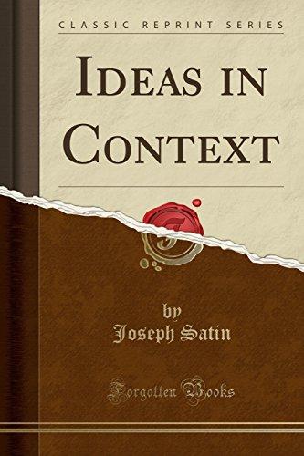Joseph Satin (Ideas in Context (Classic Reprint))