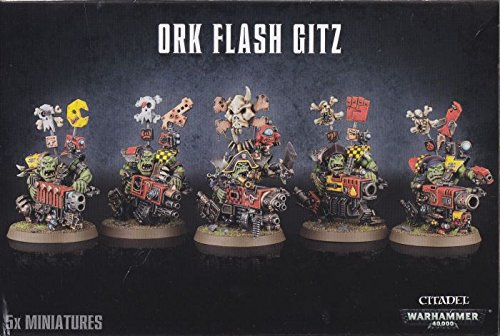 Warhammer 40k: Ork Flash Gitz (2014) by Games Workshop