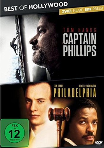 Preisvergleich Produktbild Best of Hollywood - 2 Movie Collector's Pack: Captain Phillips / Philadelphia [2 DVDs]