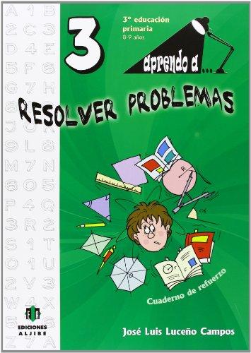 Aprendo a. Resolver problemas 3-9788497007481 por José Luis Luceño Campos
