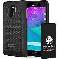 PowerBear Batterie Étendue Samsung Galaxy Note Edge [6000mAh], Couvercle Arrière et Boîtier de Protection (2.5X de Puissance de Batterie Supplémentaire) [24 Mois Garantie et Protecteur d'Écran]