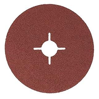 Agera Tools Fiberschleifscheiben, Durchmesser 125 mm K40 5 Stück, 787125-040