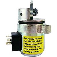 042727330427–273312V solenoide de corte–sinocmp cp-u0341combustible cortar solenoide para Deutz bf4m1011F Bobcat cargadora compacta partes, 3Meses de Garantía)