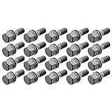 Febi Bilstein 30400 Radschraube M12 x 1,25; 49 mm für Stahlfelge (Vorderachse, Hinterachse)