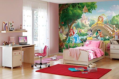 komar-disney-princess-palace-pets-papier-peint-en-vinyle-multicolore-lot-de-8