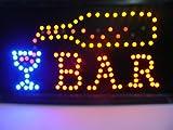 LED Leuchtschild mit Schriftzug Bar