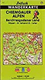 Fritsch Karten, Nr.77, Chiemgauer Alpen, Berchtesgadener Land, Kössen, Sankt Johann in Tirol, Lofer (Fritsch Wanderkarten 1:50000) -