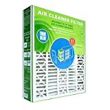 True Blue YRACFS20X25.25X3.50M11 MERV 11 Residential Air Cleaner Space-Gard and Aprilaire Filter, 20