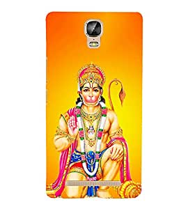 FUSON Lod Maruti With Shree Ram 3D Hard Polycarbonate Designer Back Case Cover for Gionee Marathon M5 Plus