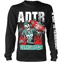 A Day To Remember T Shirt Florida band logo nuevo Oficial de los hombres negro