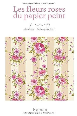 Les fleurs roses du papier