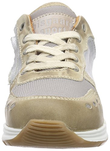 Bisgaard Shoe with Laces, Baskets Basses Mixte Enfant Argent (155 Shiny silver)