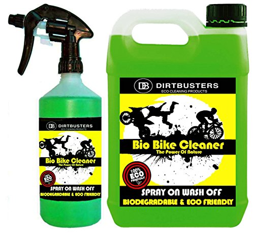 dirtbusters-bio-bike-bicycle-motorbike-motorcycle-cleaner-5l-refill-and-1-litre-spray-with-muck-munc