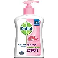 Dettol Skincare Germ Protection Handwash Liquid Soap Pump, 200ml