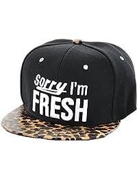 Casquette chapeau très à la mode apprécié des jeunes et des sportifs pour son aspect léger et pratique Hip-hop cap fille garçon unisex en PROMOTION une bonne idée de cadeau de noel ou d'anniversaire