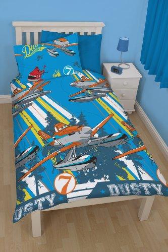 Disney Pixar Planes Kinder-Bettwäsche 135x200 Flugzeuge NEU (Disney Bettwäsche Flugzeug)