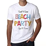 Cape St. Francis, Beach Party, tshirt für männer, strand tshirt herren, party tshirt