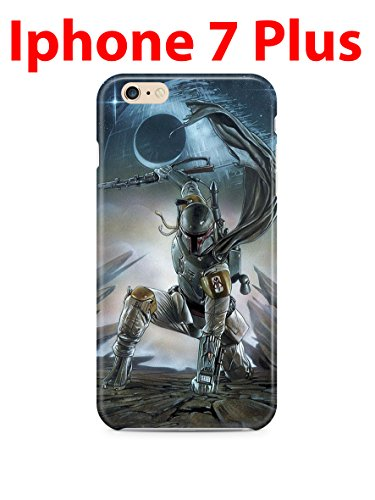 Star Wars Boba Fett iPhone 7Plus (5.5in) Hard Case Cover (SW), Muster 2 -