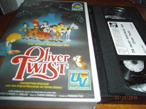 Die neuen Abenteuer des Oliver Twist [VHS]