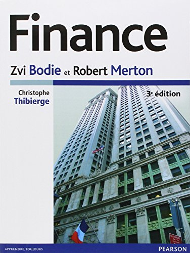 Finance 3e dition